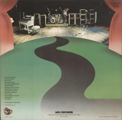 Lynyrd Skynyrd One More From The Road - EX 2-LP vinyl record set (Double Album) UK LRD2LON736860