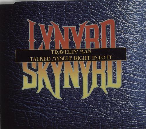 "Lynyrd Skynyrd Travelin' Man CD single (CD5 / 5"") US LRDC5TR85695"