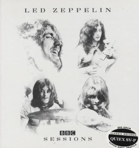 Led Zeppelin BBC Sessions 4-LP vinyl album set (4 records) US ZEP4LBB322165