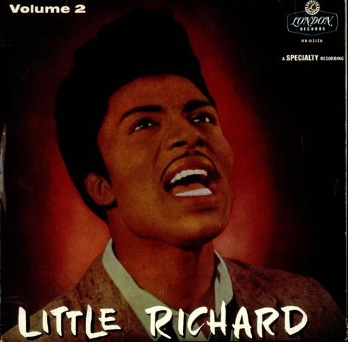 Little Richard Little Richard Volume 2 - Flipback vinyl LP album (LP record) UK LTRLPLI533989