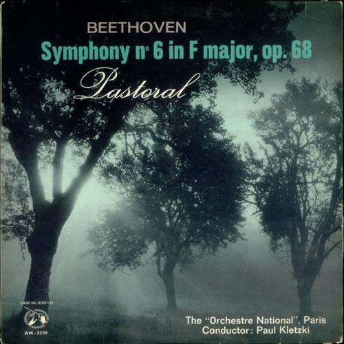 Ludwig Van Beethoven Symphony No. 6 in f major, Op. 68 vinyl LP album (LP record) UK LVBLPSY539644