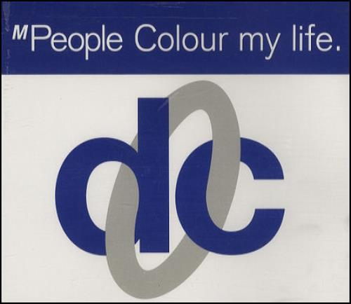 "M-People Colour My Life CD single (CD5 / 5"") UK MPEC5CO274742"
