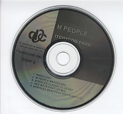 "M-People Itchycoo Park CD single (CD5 / 5"") UK MPEC5IT61001"