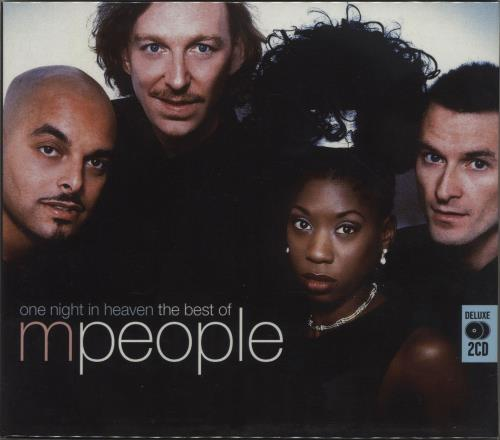 M-People One Night In Heaven: The Best Of M People 2 CD album set (Double CD) UK MPE2CON419173