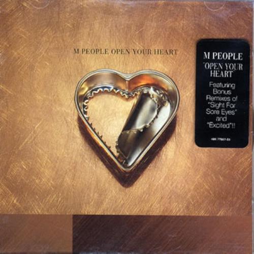 "M-People Open Your Heart CD single (CD5 / 5"") US MPEC5OP84799"