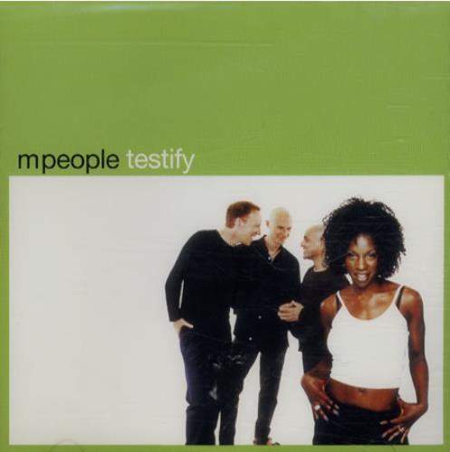 "M-People Testify CD single (CD5 / 5"") US MPEC5TE139336"