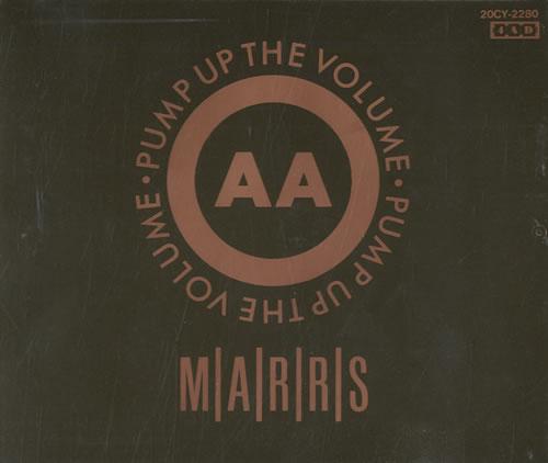 "M.A.R.R.S. Pump Up The Volume CD single (CD5 / 5"") Japanese MRSC5PU556841"