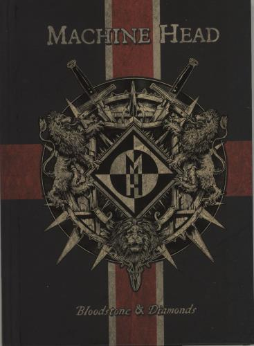Machine Head Bloodstone & Diamonds CD album (CDLP) UK MHECDBL681766