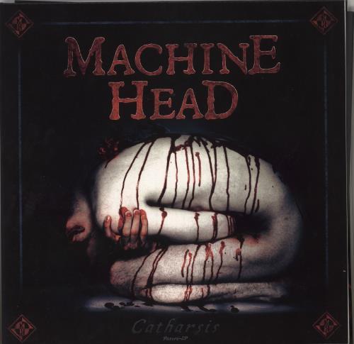 Machine Head Catharsis picture disc LP (vinyl picture disc album) German MHEPDCA741228