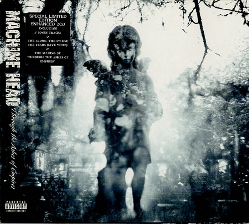 Machine Head Through The Ashes Of Empire 2 CD album set (Double CD) UK MHE2CTH581860