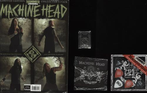 Machine Head Unto The Locust - Special Edition CD + Magazine memorabilia UK MHEMMUN746313