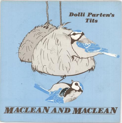 """Maclean And Maclean Dolli Parten's Tits 7"""" vinyl single (7 inch record) UK 0BE07DO730912"""