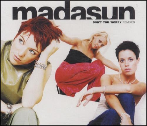 "Madasun Don't You Worry CD single (CD5 / 5"") UK MDUC5DO161174"