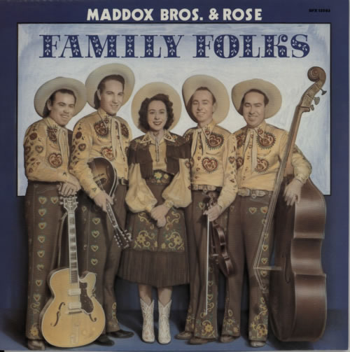 Maddox Bros Family Folks vinyl LP album (LP record) German N2ELPFA617510