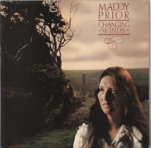 Maddy Prior Changing Winds vinyl LP album (LP record) UK YDDLPCH210652