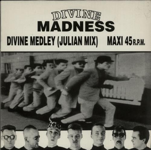 """Madness Divine Medley 12"""" vinyl single (12 inch record / Maxi-single) Spanish MDN12DI35310"""