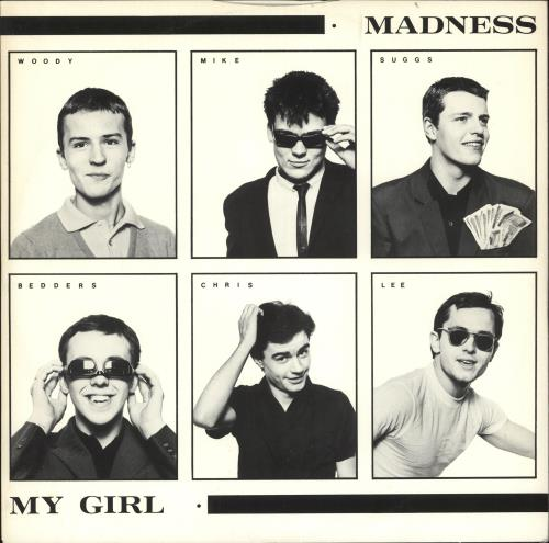 "Madness My Girl 12"" vinyl single (12 inch record / Maxi-single) UK MDN12MY22763"