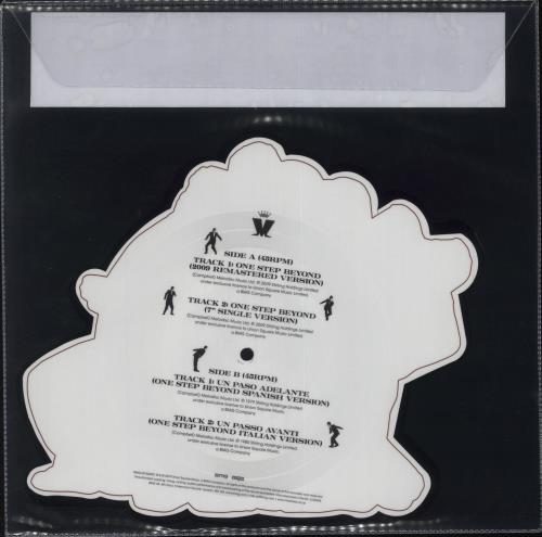 Madness One Step Beyond - RSD19 shaped picture disc (picture disc vinyl record) UK MDNSHON718435