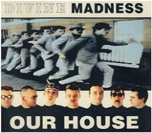 """Madness Our House CD single (CD5 / 5"""") French MDNC5OU153687"""