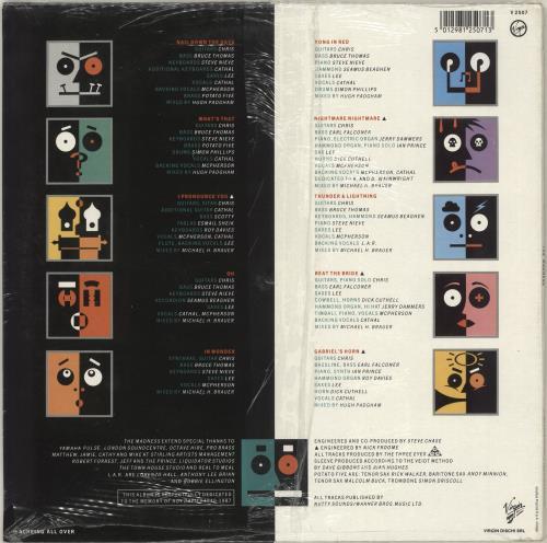 Madness The Madness - Sealed vinyl LP album (LP record) UK MDNLPTH713104