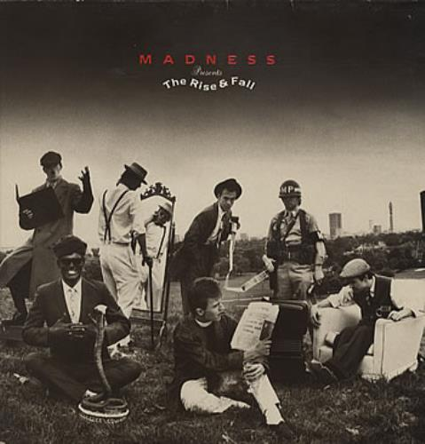 Madness The Rise & Fall vinyl LP album (LP record) UK MDNLPTH316765