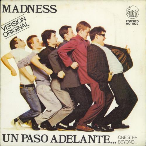 """Madness Un Paso Adelante 7"""" vinyl single (7 inch record) Spanish MDN07UN93781"""