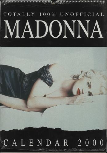 Madonna 14 Assorted Calendars calendar UK MADCAAS679604