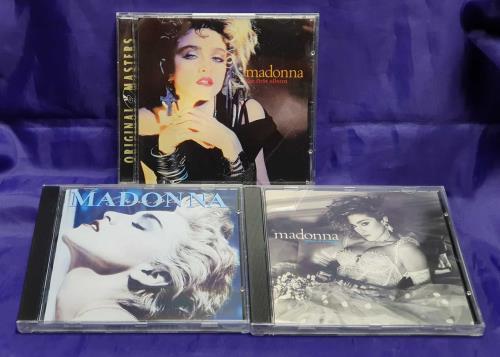 Madonna 3 For One - pink slipcase box set Australian MADBXFO151749