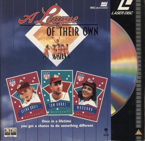 Madonna A League Of Their Own laserdisc / lazerdisc Austrian MADLZAL729709