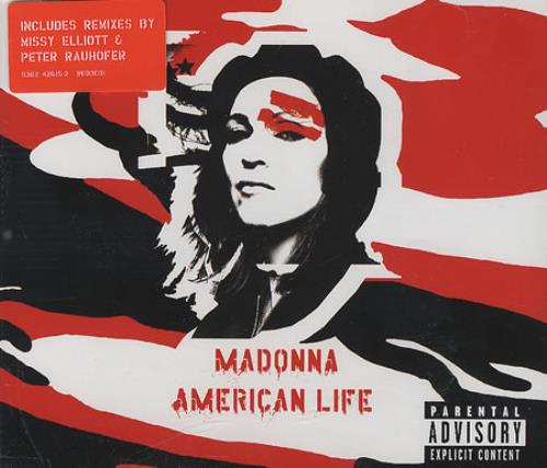 "Madonna American Life - Part 1 CD single (CD5 / 5"") UK MADC5AM370520"