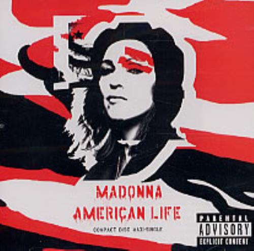 "Madonna American Life CD single (CD5 / 5"") US MADC5AM244271"