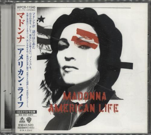 Madonna American Life CD album (CDLP) Japanese MADCDAM696524