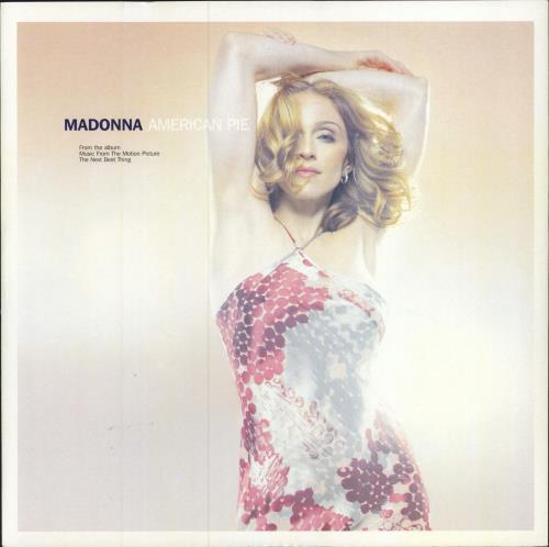 "Madonna American Pie - EX 12"" vinyl single (12 inch record / Maxi-single) UK MAD12AM762640"