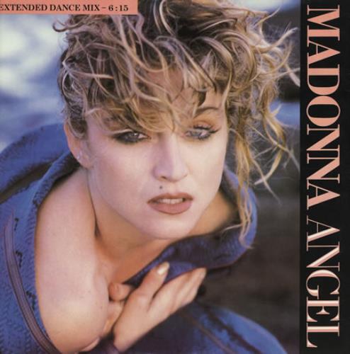 "Madonna Angel 12"" vinyl single (12 inch record / Maxi-single) UK MAD12AN12026"
