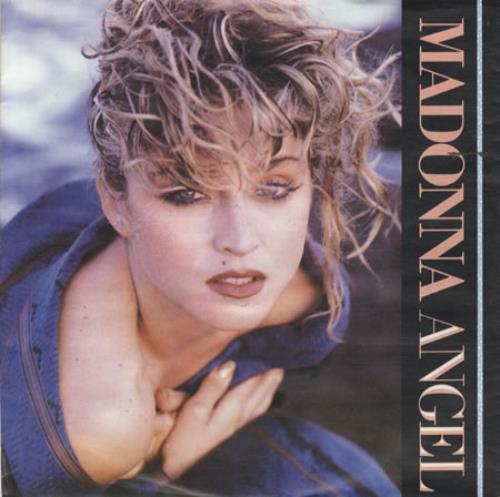 "Madonna Angel 7"" vinyl single (7 inch record) German MAD07AN344908"