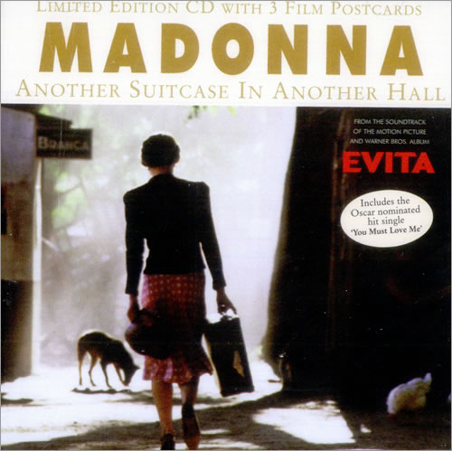 """Madonna Another Suitcase In Another Hall CD single (CD5 / 5"""") UK MADC5AN82645"""
