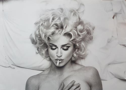 Madonna Bad Girl poster UK MADPOBA48876