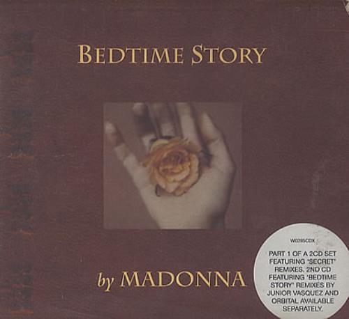 Madonna Bedtime Story - EX 2-CD single set (Double CD single) UK MAD2SBE351534