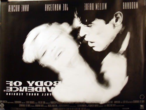 Madonna Body Of Evidence - Cinema - Double Sided poster UK MADPOBO609343
