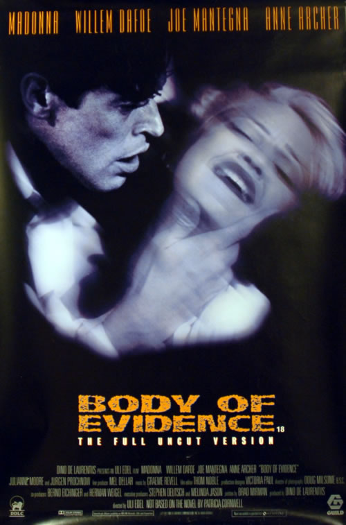 body of evidence madonna willem dafoe