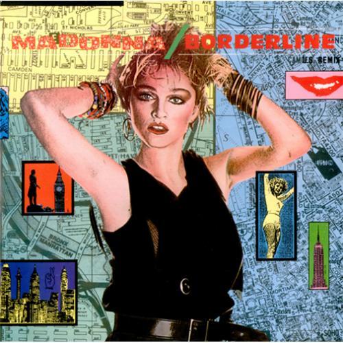 "Madonna Borderline 12"" vinyl single (12 inch record / Maxi-single) UK MAD12BO05510"