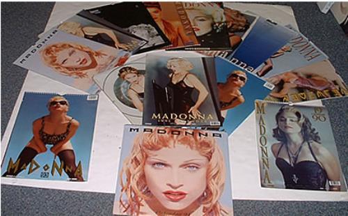 Madonna Calendars From The 90's calendar UK MADCACA253999
