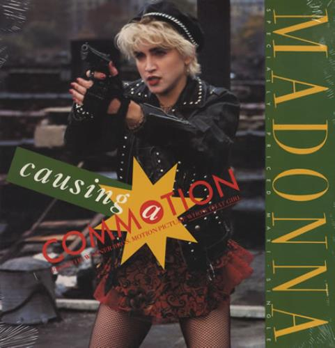 """Madonna Causing A Commotion - Sealed 12"""" vinyl single (12 inch record / Maxi-single) US MAD12CA423648"""