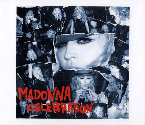 """Madonna Celebration CD single (CD5 / 5"""") UK MADC5CE485418"""