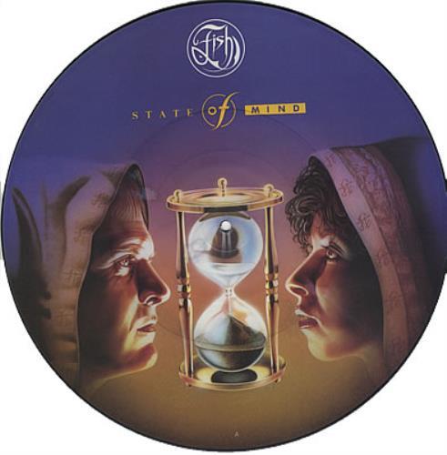 """Madonna Cherish - 3-track Mispressed Fish Picture Disc 12"""" vinyl picture disc 12inch picture disc record UK MAD2PCH376896"""