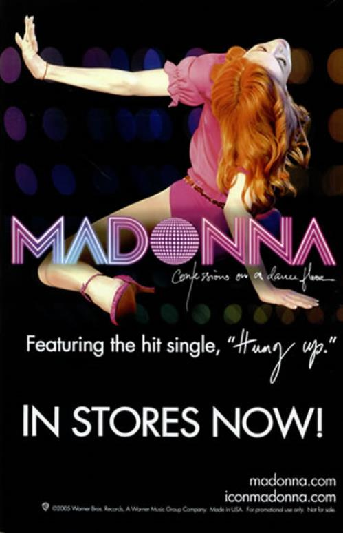 Madonna Confessions On A Dance Floor US
