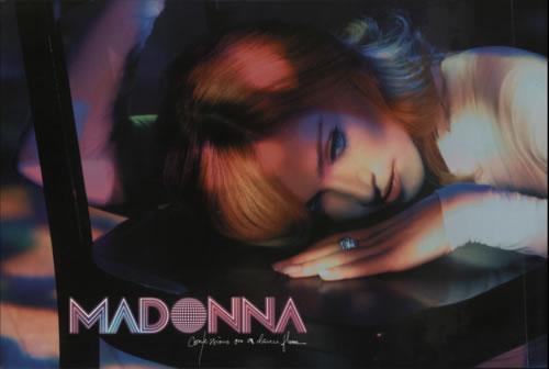 Madonna Confessions on A Dancefloor poster UK MADPOCO611756