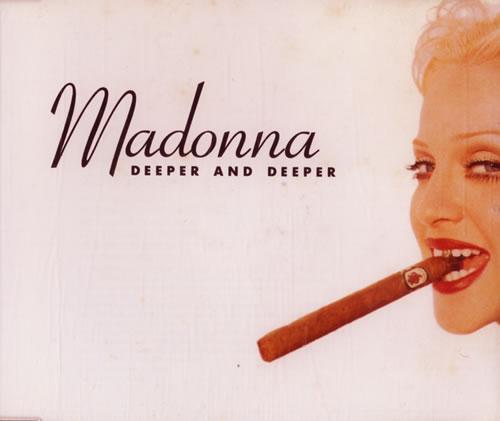 "Madonna Deeper And Deeper CD single (CD5 / 5"") UK MADC5DE11902"