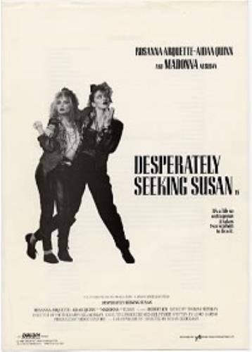Madonna Desperately Seeking Susan press book UK MADPBDE174756