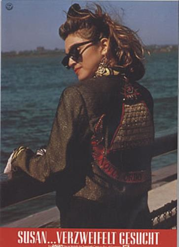 Madonna Desperately Seeking Susan lobby card German MADLCDE302148